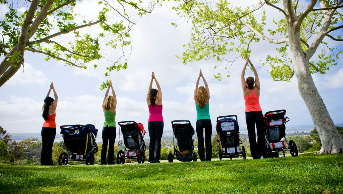 FIT4MOM in San Diego is the largest fitness program for moms.